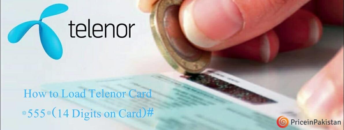 Load Telenor Card | Telenor Card Load 2021