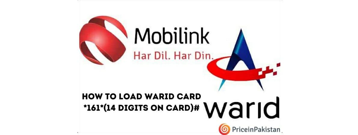 Warid Card Load