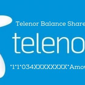 Telenor Balance Share 2021| How To Share Telenor Balance | Telenor Smart Share Code