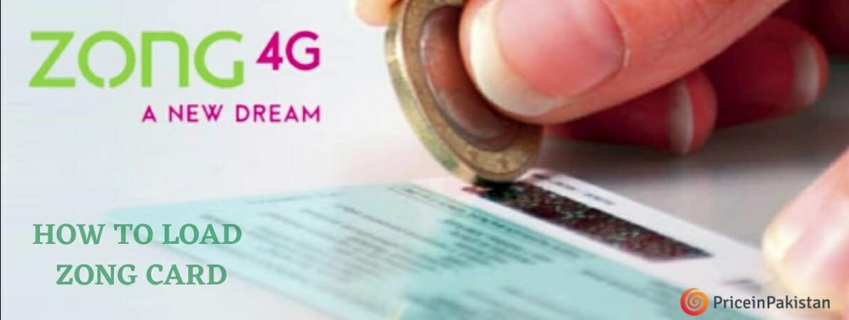 Load Zong Card | Zong Card Load 2021