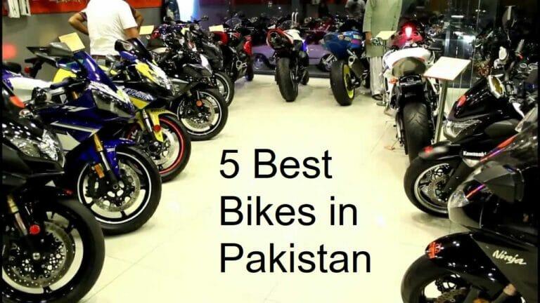 Top 5 Bikes in Pakistan