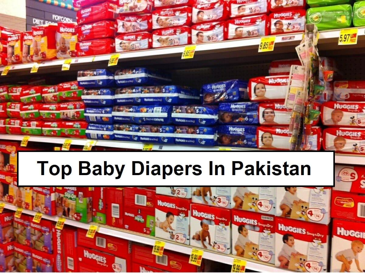 Top Diapers in Pakistan