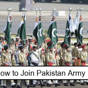 How to join Pakistan Army