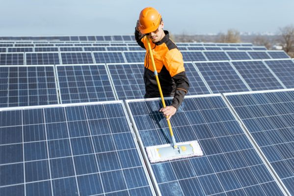 Maintain Solar Panels